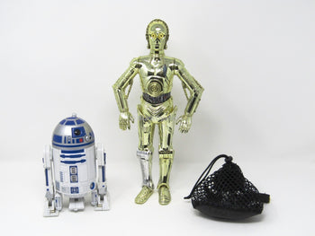 Star Wars R2-D2 & C-3PO w/Mesh Backpack Set