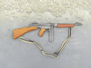 WWII Era 9MM Thompson SMG w/Real Metal and Wood