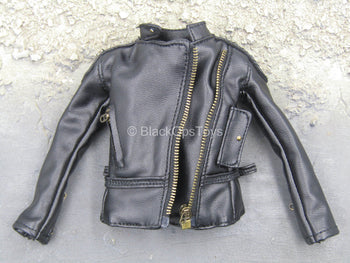 Wanted - Black Leather Like Female Jacket