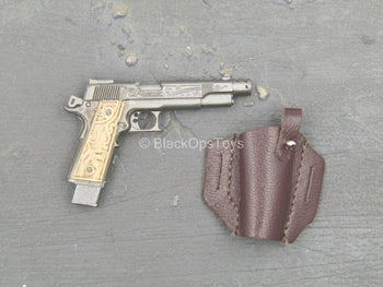 Wanted - 1911 Pistol w/Brown Leather Like Holster