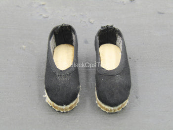 WWII - 18th Army - Medical Soldier - Slip On Shoes (Foot Type)