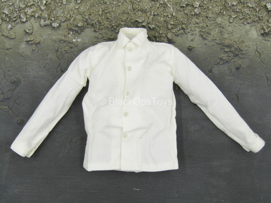 WWII - 18th Army - Medical Soldier - White Dress Shirt