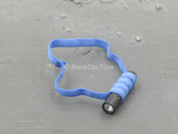 Female PLA Peacekeeper - Flashlight w/Blue Lanyard