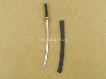 1/12 - Palm Empire - Black Ashigaru - Samurai Sword w/Black Sheath