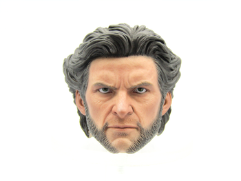 Authentic - X-Men Origins - Wolverine - Male Head Sculpt w/Stand
