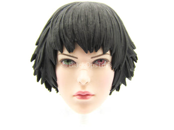 Devil May Cry 3 - Lady - Female Head Sculpt w/Multi-Colored Eyes
