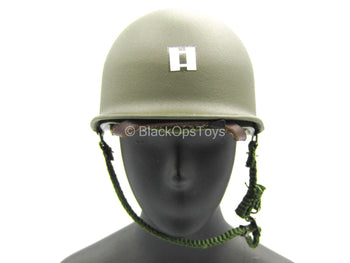 WWII - US Captain Miller - Metal M1 Helmet