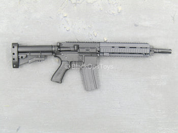 RIFLE - Black M4 Assault Rifle w/Extendable Stock
