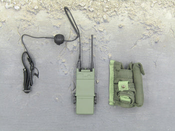Navy Seal Combat Team - Green Radio w/Pouch