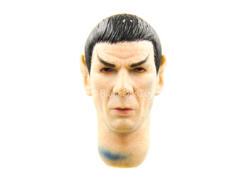 1/12 - Star Trek - Spock - Male Head Sculpt (Dye Staining)