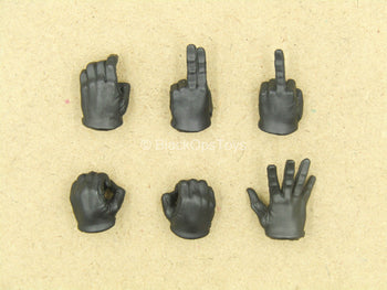 1/12 - Agent Gomez - Black Hand Set (x6) Type 2