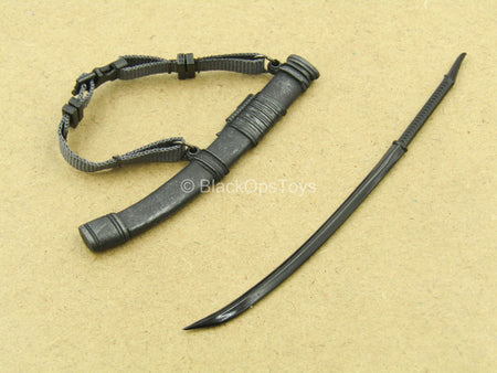 1/12 - Agent Gomez - Black Katana w/Sheath