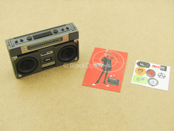 1/12 - Agent Gomez - Weapon Case Boombox w/Stickers