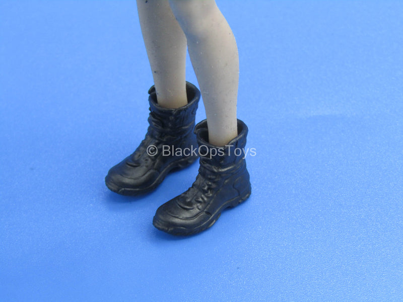 1/12 - Custom - Female Rugged Boots (Peg Type)