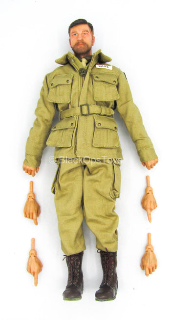 WWII - US 101st Airborne - Male Dressed Body w/Head Sculpt