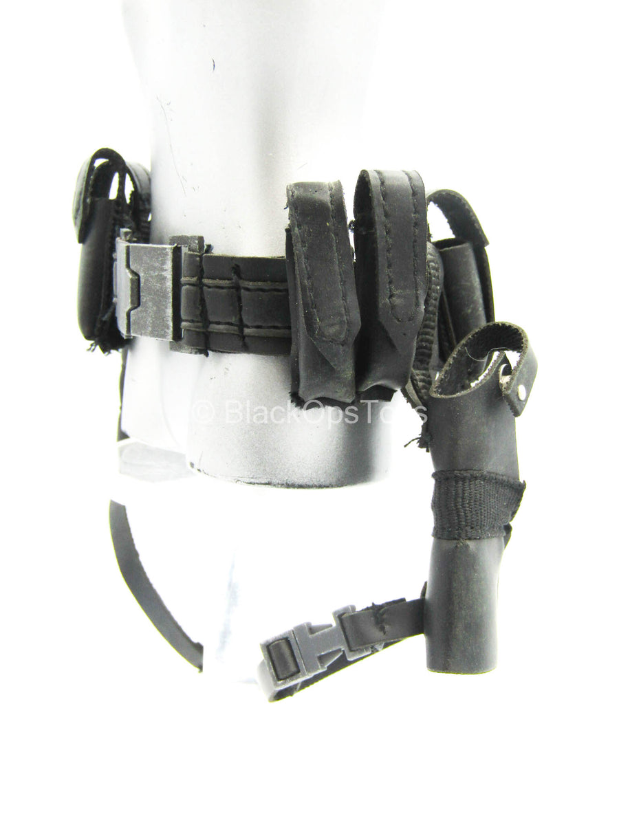 The Punisher - Black Utility Belt w/Drop Leg Holsters