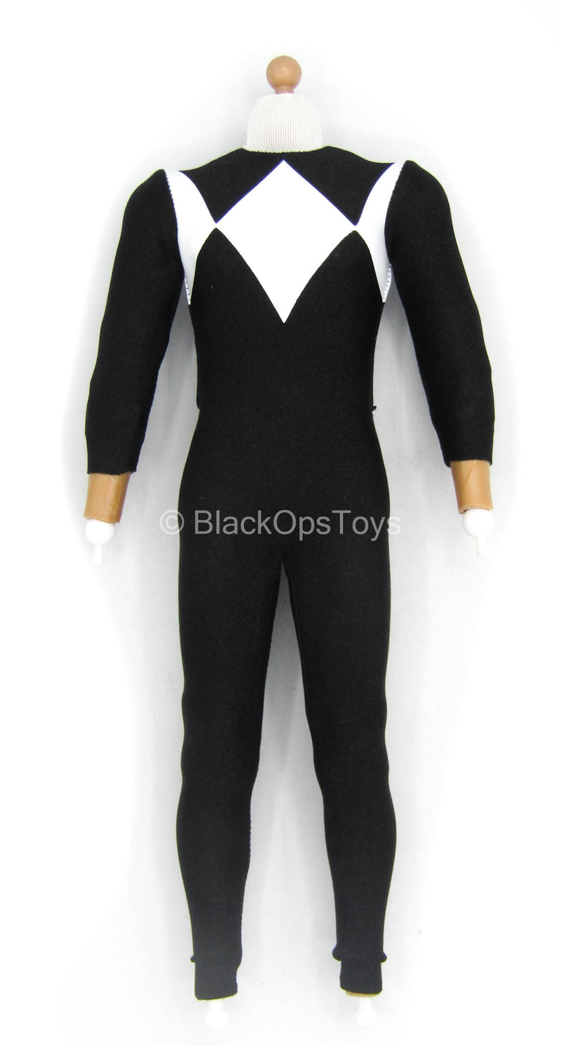 Golden Black Hero - Male Body w/Black & White Bodysuit
