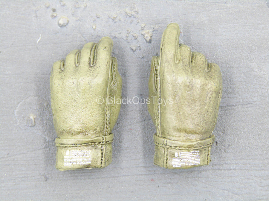 Navy Seal Team 10 - Tan Right Trigger Gloved Hands