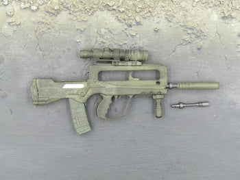 GI JOE Desert Trooper Dusty FAMAS Rifle Set