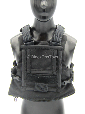 US Air Force STS - Black Plate Carrier Vest