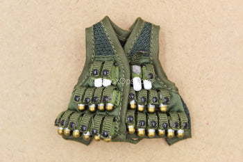 1/12 - 75th Ranger - Grenadier - OD Green Vest w/40MM Grenade Set