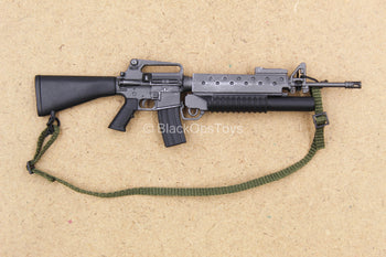 1/12 - 75th Ranger - Grenadier - M16 Rifle w/Grenade Launcher