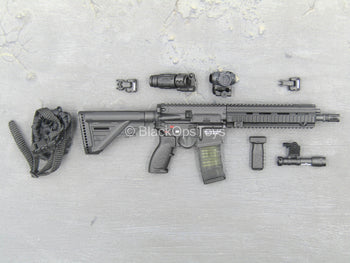 British - Street MPS - Black HK416 Rifle w/Accessory Set