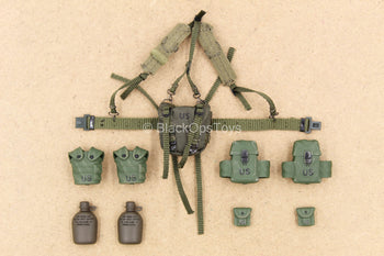 1/12 - 75th Ranger - Grenadier - OD Green Harness w/Pouch Set