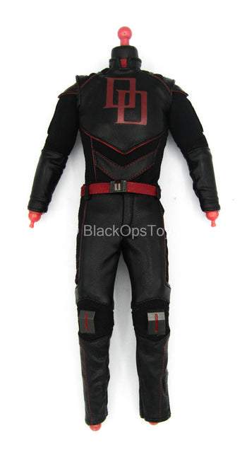 Daredevil - Male Base Body w/Black Leather-Like Uniform