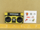 1/12 - Golden Dragon - Gomez - Gold Like Boombox w/Stickers