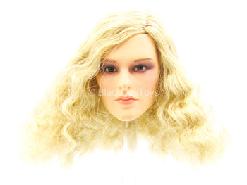 Female Dress Set - Female Wavy Blonde Hair Head Sculpt