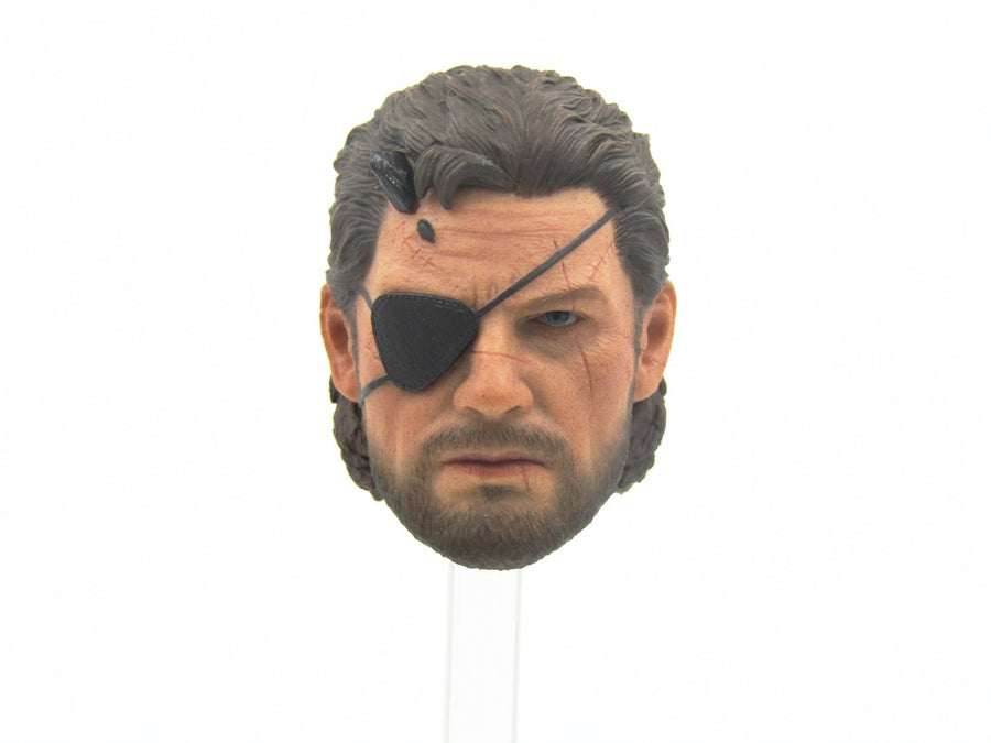 Metal Gear Solid - Disguiser - Head Sculpt
