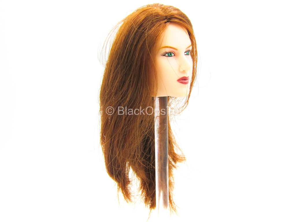 Female Dress Set - Female Long Light Brown Hair Head Sculpt