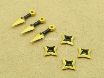 1/12 - Golden Dragon - Gomez - Throwing Knives & Shurikens