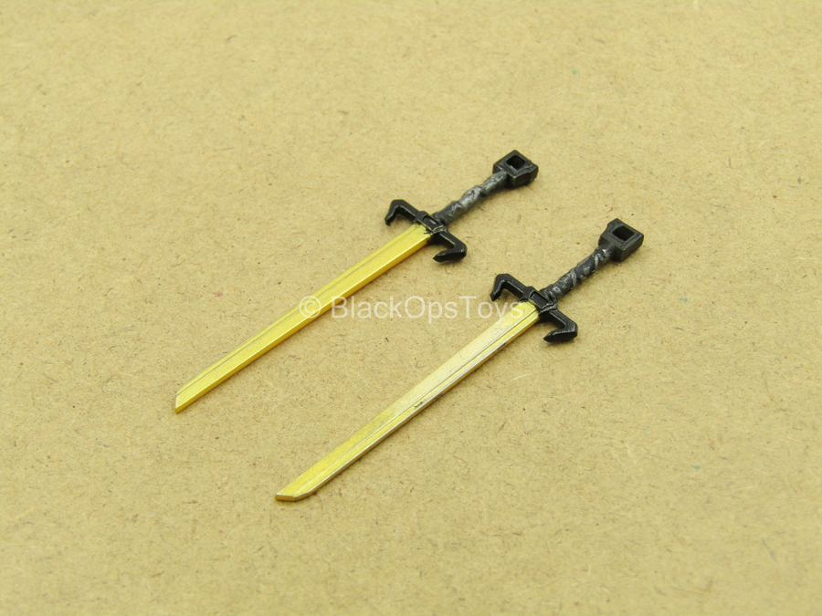 1/12 - Golden Dragon - Gomez - Tanto Swords (x2)
