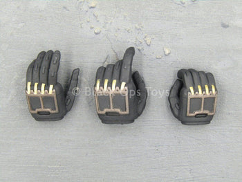 Neo Keisatsu - Black & Gold Robotic Hand Set (x3) Type 1
