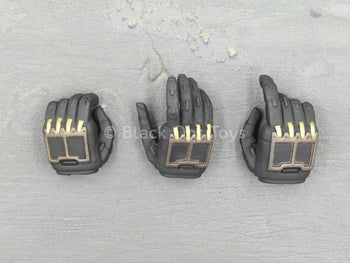 Neo Keisatsu - Black & Gold Robotic Hand Set (x3) Type 2