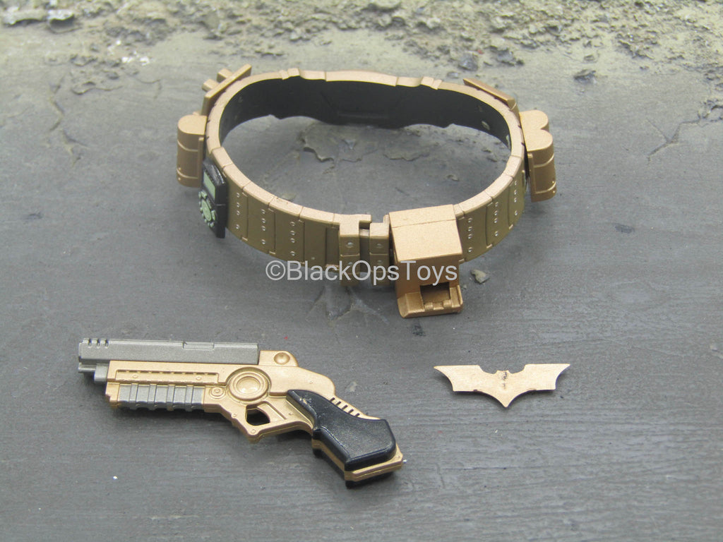 Batman Begins - Belt & Grappler w/Batarang