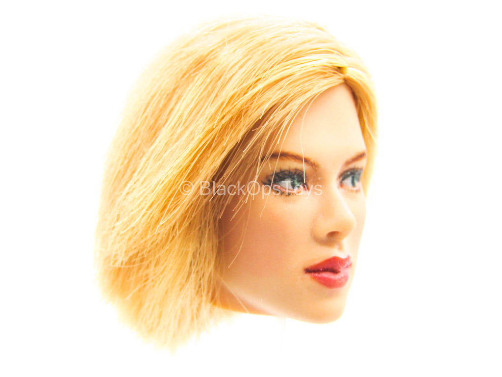 Female Dress Set - Female Short Blonde Hair Head Sculpt