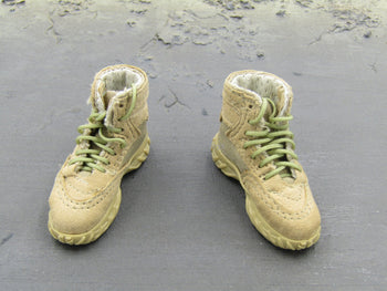 ODA Assault Team Leader Special Forces Tan Combat Boots (Foot Type)