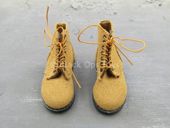 WWII - U.S.M.C. Rifle Gunner - Boondocker Boots (Foot Type)
