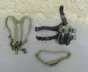 ODA Assault Team Leader Special Forces Drop Leg Holster & Harness Set
