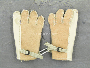 UNIFORM - Brown Rappelling Gloves