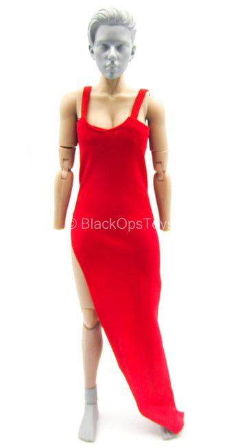Female Dress Set - Red Dress