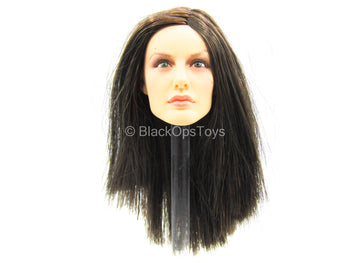 Female Dress Set - Female Long Brunette Hair Head Sculpt