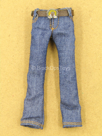 1/12 - Wolfman - Denim Like Pants w/Belt