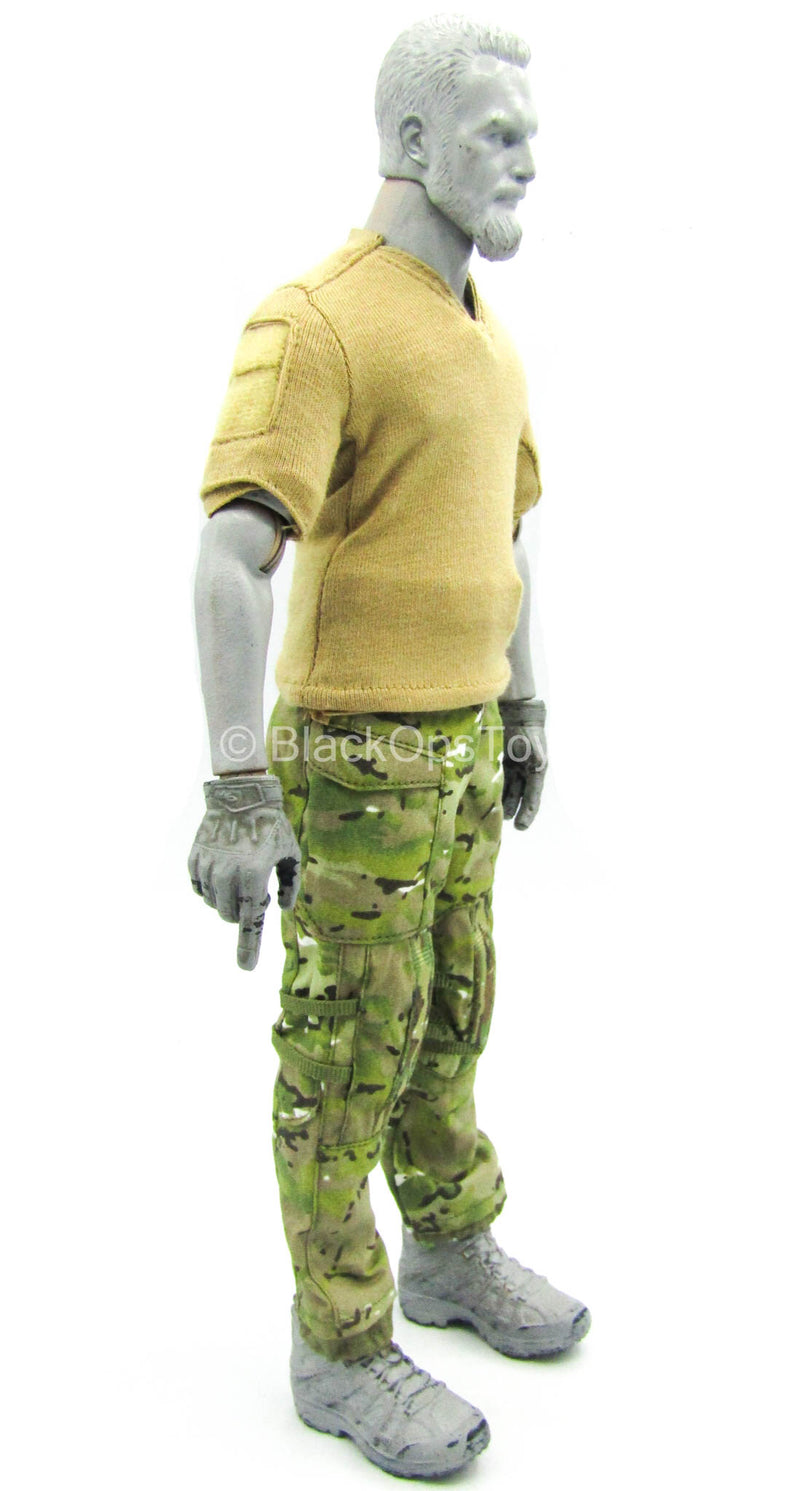 SMU Part XI Quick Response Force - Multicam Pants w/Brown Shirt