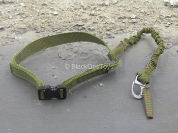 U.S. Army Green Beret ODA721 - Green Belt w/Retention Lanyard