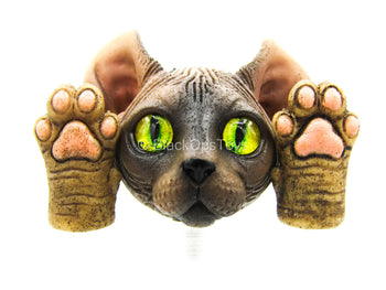 Other Scale - Zootopla - Dumpling - Cat Head Sculpt w/Hat & Paw Set