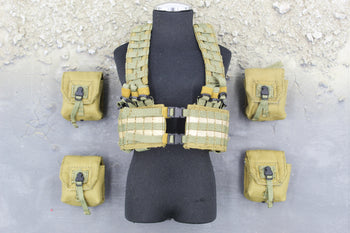 Marc A. Lee - Seal Team 3 - MLCS H-Harness & Pouch Set